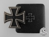 A Desirable Iron Cross First Class 1939 with Case by Deschler