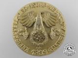 A 1939 Neustadt NSDAP Convention Badge by Wilhelm Deumer