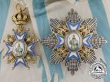 A Serbian Order of St. Sava; Grand Cross by Huguenin Freres