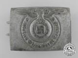 An SS EM/NCO's Belt Buckle