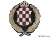 Banovina of Croatia (1939-1941) - Police Cap Badge