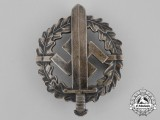 A Silver Grade SA Sports Badge by Karl Hensler of Pforzheim