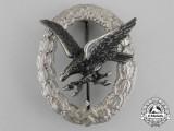 A Fine Luftwaffe Radio Operator & Air Gunner Badge by Assmann & Söhne