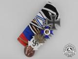An Untouched First War Bavarian Merit Order Frack Medal Bar