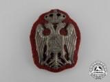 A Serbian Officer's Cap Badge, c. 1930