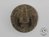 A 1937 NSDAP Aachen District Council Day Badge