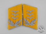 A Set of Mint and Unissued Matching Luftwaffe Flight Hauptmann Rank Collar Tabs