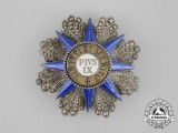 An Order of Pius; Grand Cross Breast Star