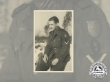 A wartime Photo of Gefreiter with Krimschild