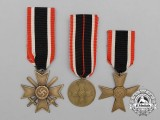 A Set of War Merit Medals and Crosses
