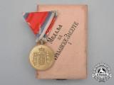 A Serbian Medal for Civil Merit; 1st Class Gold Grade