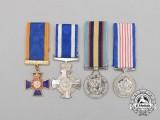 Four Miniature Canadian Awards