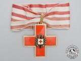 An Austrian Red Cross Decoration; 1st Class Cross