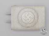 A Third Reich Period German Police Enlisted Man's Belt Buckle