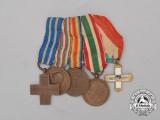 A First War Miniature Italian Group of Five