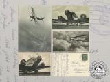 Four Second War Luftwaffe Postcards