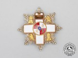A Spanish Order of Military Merit with White Distinction; 4th Class Breast Star