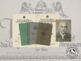 A Document Group to Lieutenant Colonel Erich Kiße; Commander of Security Regiment 603
