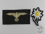 Two German Waffen-SS Insignia