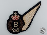 A Second War Royal Air Force (RAF) Bombardier (B) Wing