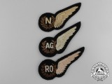 Three Royal Air Force (RAF) Wings