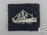 A Royal Air Force (RAF) Air Sea Rescue Arm Badge
