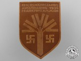 A 1936 Reichsnährstand Exhibition Badge by E.O. Friedrich