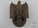 A 1938 Leipzig Deutsche Gepäckmarsch Meisterschaft Badge