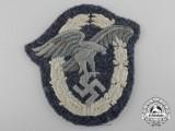 A Luftwaffe Observer's Badge; Cloth Version