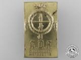A Kraft Durch Freude Gau Halle-Merseburg Badge