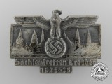 A 1925-1935 Saxony/Dresden Meeting Badge