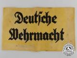 A Deutsche Wehrmacht Volunteer Assistant Armband