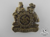 "An Oberbayern German Labour Front ""Strength Through Joy"" Badge"