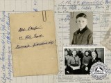 An SS Identification & Service Book of Karl Lange 1944 POW