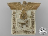 A 1939 Braunschweig District Diet Badge by Robert Sieper