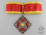 A Rare & Mint Order of the Pillars of the State; Commander's Badge