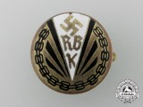 A Reichs Association of the Physically Handicapped Badge