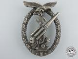 An Early Luftwaffe Flak Badge by Brehmer