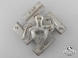 A 1934 Gera German Labour Front Kreisaufmarsch Badge