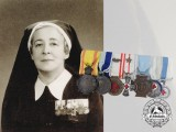 A Second War Greek Nursing Sisters Red Cross Medal Bar