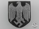 A Wehrmacht Pith Helmet Insignia