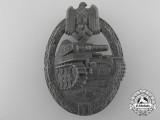 An Silver Grade Tank Assault Badge