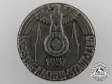 A 1937 Aachen District Day Badge