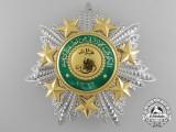 An Order of the Star of Jordan 1949 (Wisam al-Kawkab al-Urduni 1366) Breast Star