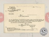 A 1943 Berlin District Court Business Registration Notice