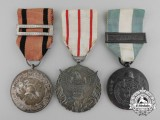 Three Portuguese Fire Fighting Medals& Awards