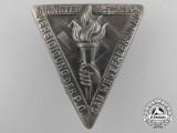 A 1934 District Westfalen Oath Ceremony Badge by Linden-Lüdenscheid