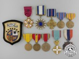 """The Doolittle Raiders Group of Brigadier General Richard August """"Knobby"""" Knobloch"""