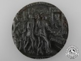 A British Satirical Propaganda Medal of the Sinking of the Lusitania