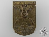 A 1933 NSDAP District Mittelfranken Hesselberg Badge